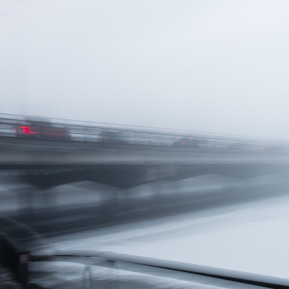 Bridge during winter